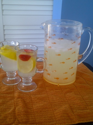 Grandmother's Ginger Lemonade