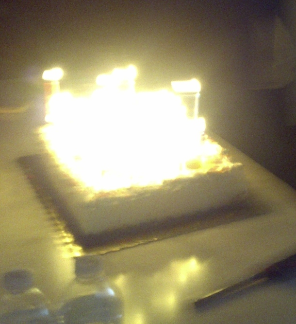 Birthday cake of Illumination