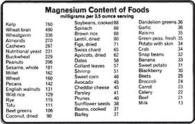 mag foods to eat
